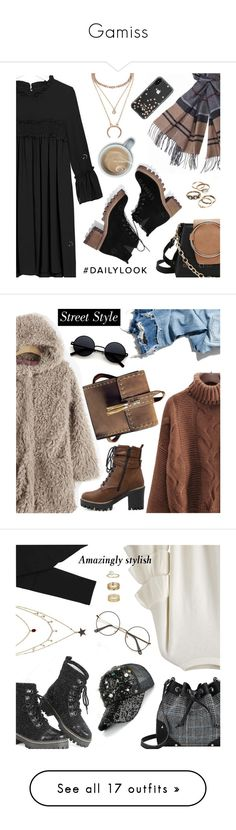 """""""Gamiss"""" by dressedbyrose ❤ liked on Polyvore featuring Barbour, Kate Spade, R13, StreetStyle, ootd, polyvoreeditorial, gamiss, Yves Saint Laurent, Miss Selfridge and Prada"""