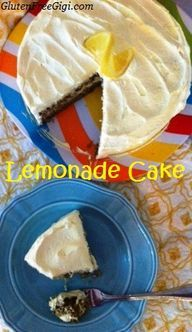 Gluten-Free Lemonade Layer Cake