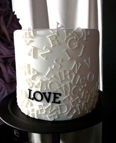 A classic wedding cake. Made by Yolanda Gampp.
