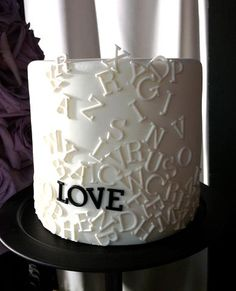 A classic wedding cake. Made by Yolanda Gampp.