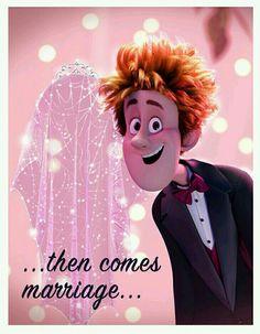 #Que linda pareja          mira hotel transylvania 2 3ds Games, Adventure Time, Mavis Hotel Transylvania, Disney Icons, Kawaii, Cartoon Art Styles, Bridal Beauty, Humor, Disney Cartoons