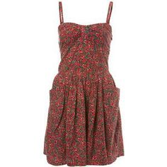 I really want some floral dresses.