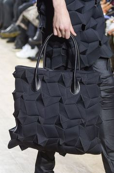 Pin for Later: Chanel, Louis Vuitton, Celine: Come See the Amazing Bags From Paris Fashion Week Junya Watanabe Fall 2016 Cheap Purses, Cheap Handbags, Cute Purses, Purses And Handbags, Luxury Handbags, Popular Handbags, Luxury Purses, Fashion Bags, Paris Fashion