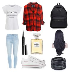 """""""Daily casual outfit"""" by lili12245 on Polyvore featuring Rails, Ally Fashion, Paige Denim, Converse, Yves Saint Laurent, Marc Jacobs, Chanel, ABS by Allen Schwartz, women's clothing and women's fashion"""