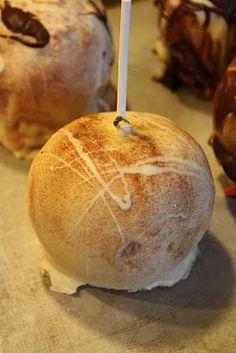 White chocolate cinnamon Carmel apple