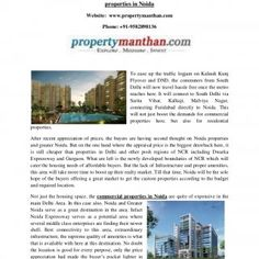 Noida- South Delhi Metro connectivity to boost demand for Commercial properties in Noida Website: www.propertymanthan.com Phone: +91-9582898136 To ease up t. http://slidehot.com/resources/noida-south-delhi-metro-connectivity-to-boost-demand-for-commercial-properties-in-noida.56768/