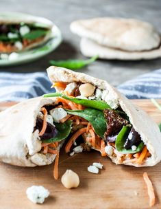 Recipe: Mediterranean Veggie Pita Sandwich