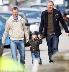 Coronation Street: Cute gay couple with son