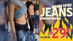 Post - promoção de jeans Calce Leve