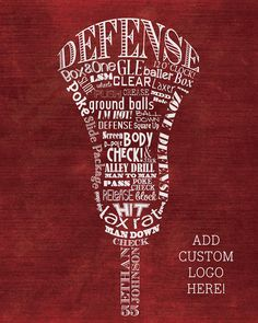 Marketing through Sports. Custom Lacrosse Defense Defenseman Word Art by ShaunaSmithDesigns on Etsy. It is for Lacrosse Players and coaches. Lacrosse wall art. It is $20.00