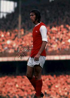 Charlie George of Arsenal in 1972.