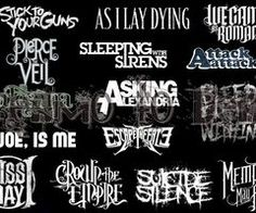 screamo mosh bands - I listen to Suicide Silence, As I Lay Dying, Sleeping With Sirens and Asking Alexandria <3<3