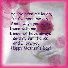 Mother's Day Poems and Quotes | Free Mother's Day Greetings