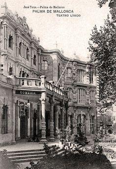 Fachada principal del  Teatro Lirico.