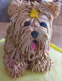 Dog Cakes Tutorials by Lovely Tutorials