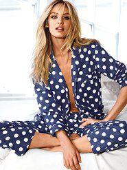 Women's Pajamas: Flannel Pajamas & Pants at Victoria's Secret