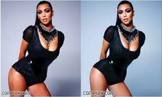The Reality of Celebrity Photoshop: Before and After........love your body