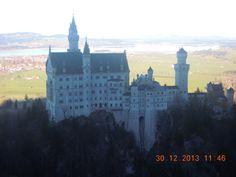 Neuschwanstein, Hohenschwangau, Bavaria.