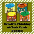 "Looking for ways to encourage your students to ""think outside of the box""?  Thinking is a skill…and it can be taught! Foster creative thinking in your classroom with this set of 96 task cards! $"