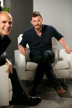 Jamie Dornan Photos Photos - Actors Michael Kelly and Jamie Dornan (R) speak…