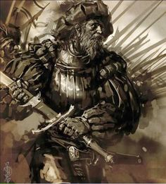 m Barbarian Medium Armor Greatsword male Battle eastern border Royal Army med Fantasy Art Men, Warhammer Fantasy, Warhammer Fantasy Roleplay, Fantasy Warrior, Fantasy Rpg, Art, Warhammer Fantasy Battle, Dark Fantasy Art, Historical Fantasy