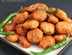 Curry and Comfort: Masoor Dhal Masala Vadai (Lentil Fritter)