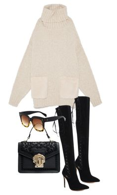 """""""nyc street"""" by florencia95 ❤ liked on Polyvore"""