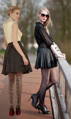 meia calça no inverno!  www.eusuperindico.com.br