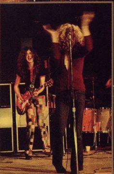 Robert Plant & Jimmy Page.