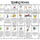 Get up and moving while practicing your weekly spelling words. Laminate and create a classroom chart to cross off which activities youve done. Stu...