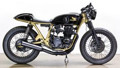 1977 Honda CB550 Café Racer. Lossa Engineering, Long Beach, California.