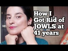 Facial Exercises For Jowls, Jowl Exercises, Face Yoga Exercises, Sagging Face, Double Chin Exercises, Laugh Lines, Face Wrinkles, Face Massage, Facial Care