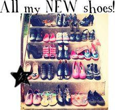 """NEW SHOOOOEEESSS!!!!"" by kdc0088 ❤ liked on Polyvore"