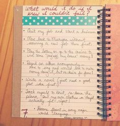 30 Days of Lists day 7 #30Lists
