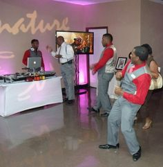"Signature Eventx Houston Wedding and Party DJ & Emcee's AKA "" MASTER OF THE THEME"""