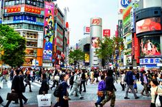 Adventure is...getting lost in the crowd. Shibuya Crossing at Rush Hour, Tokyo, Japan. #JetsetterCurator