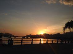 Sunset Bertioga