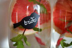"25 Sets Love Bird Mason Jar Wedding Chalkboard Labels 1.75"" for diy Rustic Reception idea Party Favors Chalk Drink Cup Label Wine Glass on Etsy, $20.00"