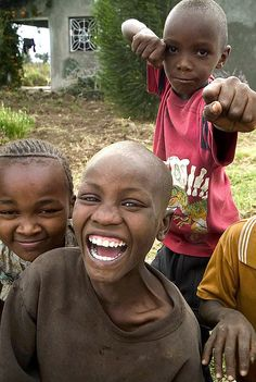 Happy children in Mangu Look like that happy smiles of children in Malawi!! One of my best memories!!