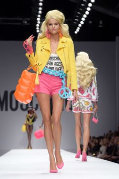 Moschino Barbie collection 2014