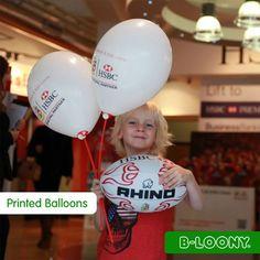 HSBC Balloons, Custom Printed Promotions