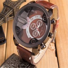 >> Click to Buy << 2015 new arrive Fashionable outdoor leisure sports watch Genuine leather men's watch #Affiliate