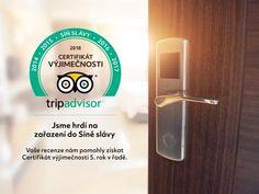 """Hotel Selský Dvůr byl uveden do """"Síně slávy"""" Certifikátu výjimečnosti TripAdvisoru za rok 2018 Siena"""
