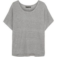 Rag & bone JEAN Bobbi pointelle-knit top ($111) ❤ liked on Polyvore