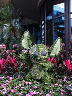 Stitch! - EPCOT's Flower and Garden Festival 2017
