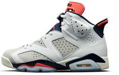 size 40 7d6a3 bb214 Nike Mens Air Jordan 6 Retro White Size 11 US Basketball Shoes High Top  Sneakers