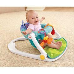 Amazon.com : Fisher-Price Sit-Me-Up Floor Seat, Citrus Frog : Baby