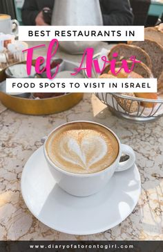 The best restaurants to visit in Tel Aviv Israel including all the top spots to eat and drink! Toronto Girls, Salmon Eggs, Food Spot, Pomegranate Juice, Food Places, Middle Eastern Recipes, Great Desserts, Arabic Food, Tel Aviv