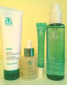 Review, Before/After Mascara Comparison Photos: Arbonne Pure Vibrance Hair Care, Calm Skincare, Hamptons Classic Makeup Palette | BeautyStat.com