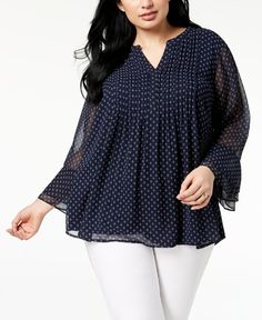 Plus Size Pleated Chiffon Blouse Created for Macys 2019 Charter Club Plus Size Pleated Chiffon Blouse Created for Macy's Tops Plus Sizes Macy's The post Plus Size Pleated Chiffon Blouse Created for Macys 2019 appeared first on Chiffon Diy. Looks Plus Size, Trendy Plus Size, Plus Size Tops, Plus Size Blouses, Plus Size Dresses, Plus Size Outfits, Designer Plus Size Clothing, Plus Size Womens Clothing, Macys Tops